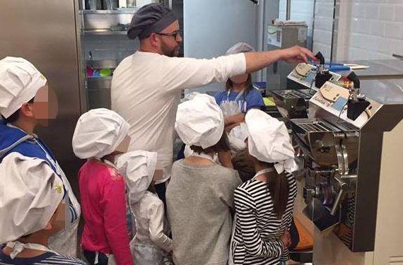 Taller de helado artesanal para niños en Estepona