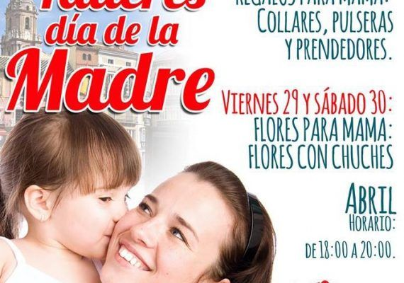 Taller infantil gratis Día de la Madre