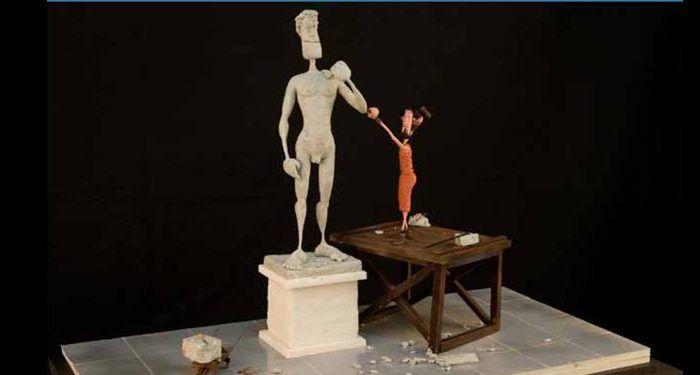 'Plastihistoria de la Humanidad', exposición de escenas históricas realizada con plastilina común,