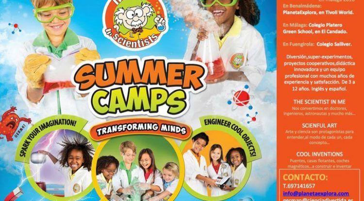 Campamento de verano Ciencia Divertida