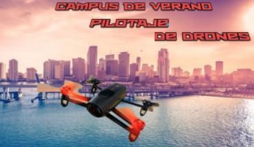 Campamento de verano: pilotar drones en Málaga con Stemxion