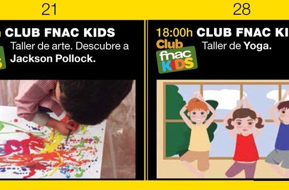 Fnac Málaga Club Fnac Kids mayo 2016 pollock yoga