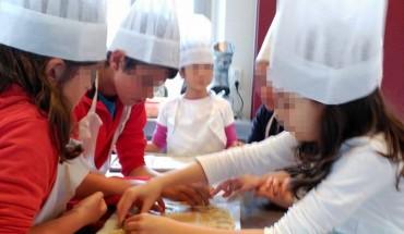 Taller de cocina infantil en Cooking Málaga