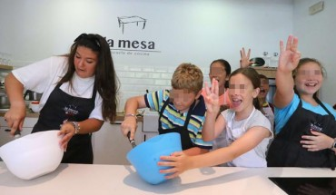 Campamento de verano de cocina con La Mesa Málaga 01