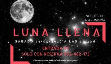 Luna llena en Yunquera