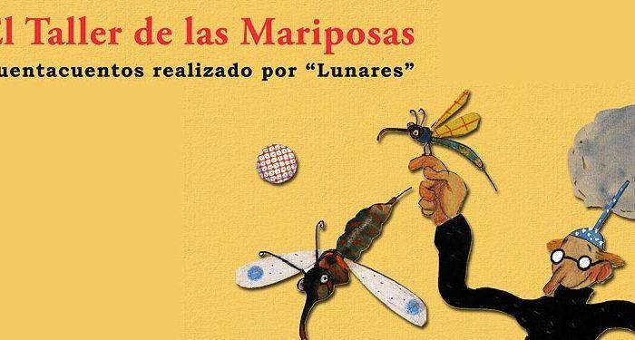 Cuentacuentos El taller de las mariposas en Málaga Biblioteca Cánovas del Castillo Lunares