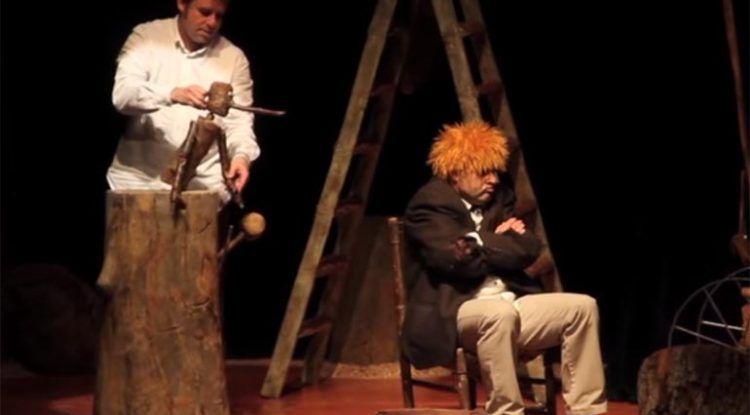 Pinocho en La Cochera Cabaret