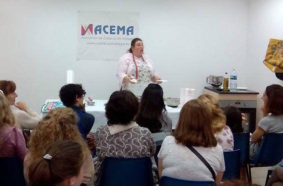 Vida sin gluten en Málaga curso pan acema celíacos