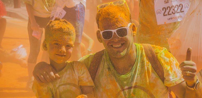 Unicaja Color Road, carrera solidaria para jóvenes a beneficio de Fundación Theodora 05
