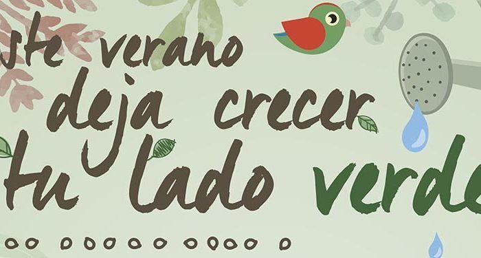 Este verano en Centro Comercial Málaga Plaza, DEJA CRECER TU LADO VERDE. talleres ecológicos para niños