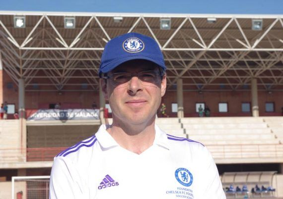 Andrew Bonich, director del Campus Chelsea FC Foundation