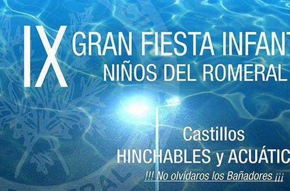 IX Gran fiesta infantil niños del Romeral