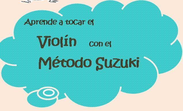 Método Suzuki para tocar el violín