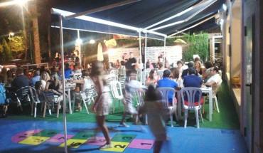 Cena con niños en verano en Málaga en Poppins