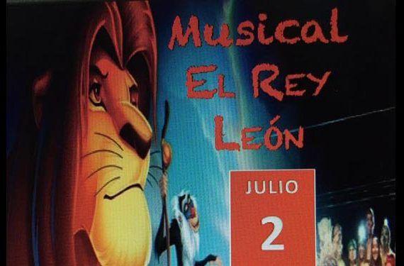 Espectáculo Musical El Rey León Torremolinos