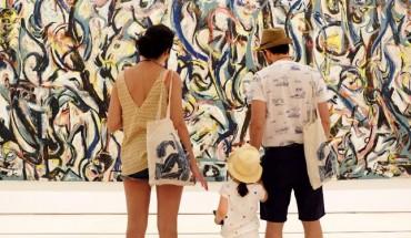 Actividades para niños en el Museo Picasso Málaga con la obra de Jackson Pollock