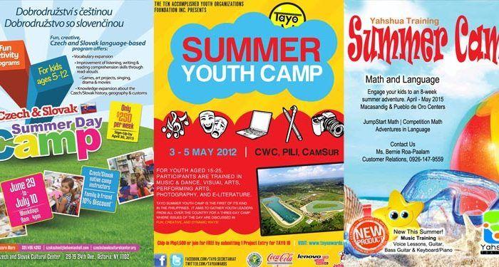 verano niños campamento blog ilustracion posters campamentos verano