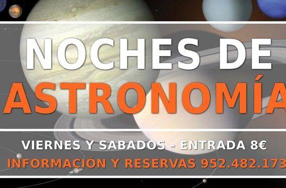 Astronomía para toda la familia en Yunquera.