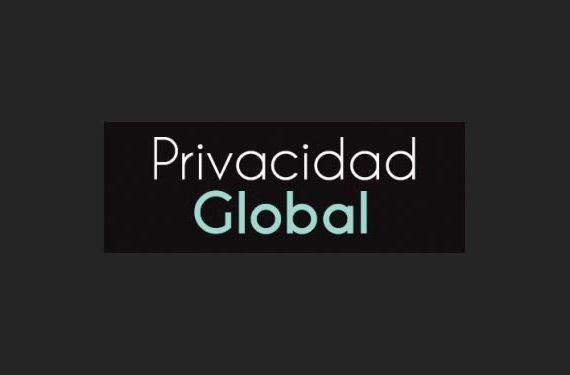 Privacidad Global ilustración genérica logo base