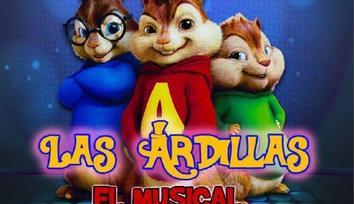 Las ardillas, El Musical