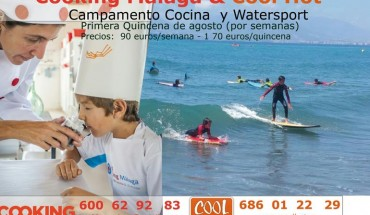 Campamento de verano de cocina y surf