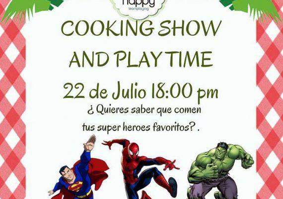 Taller de cocina infantil en el Club Happy Málaga