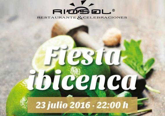 Fiesta ibicenca en Riosol