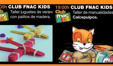 Actividades con niños en Fnac Málaga en julio