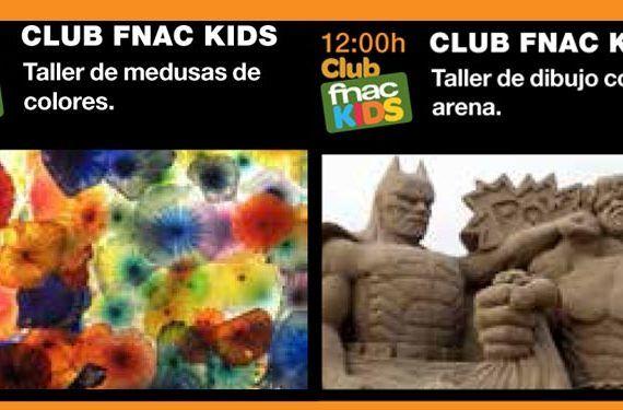 Actividades para niños en Fnac Marbella en julio