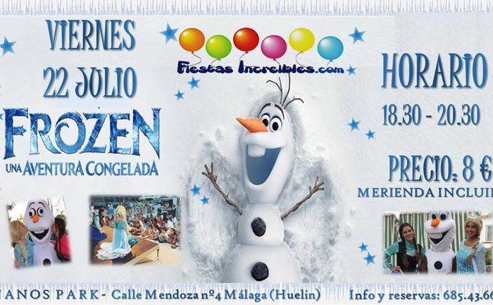 Frozen en Málaga en julio