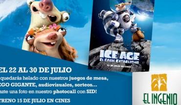 Festival de juegos Ice Age en El Ingenio de Torre del Mar