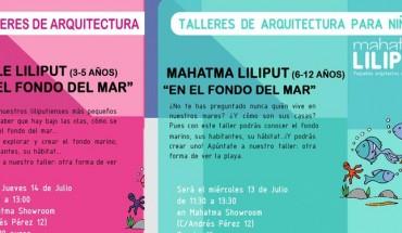 Talleres de arquitectura para niños en Málaga por Mahatma Liliput