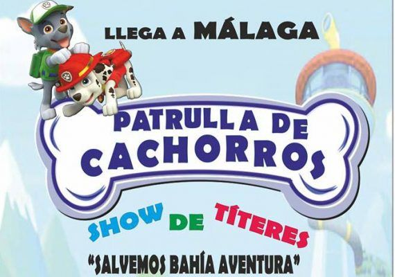 Patrulla Canina en Málaga