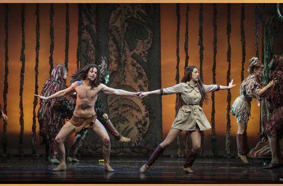 La Diversiva sortea cinco invitaciones individuales para el espectáculo Tarzán, el musical.