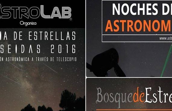 Astronomía en agosto en Málaga
