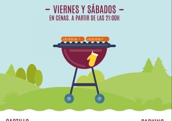 Cenas con animación infantil en Riosol