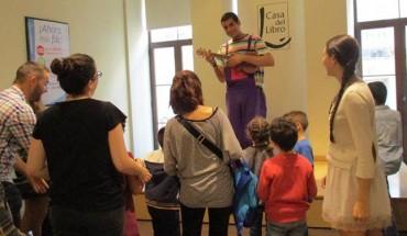 cuentacuentos para niños en la casa del libro málaga