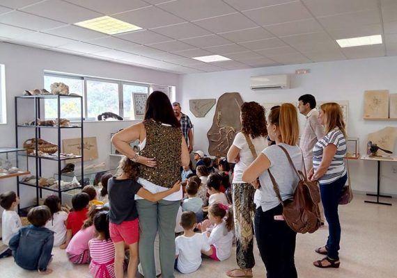 Talleres infantiles en Gaia Museum