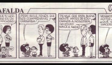 Tira de Mafalda