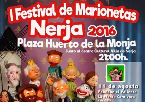 Festival de marionetas en Nerja