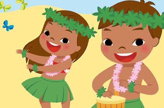 Talleres gratis para niños en Vialia Málaga ambiente hawaiano