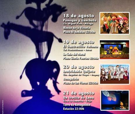 Festival de Títeres en Rincón de la Victoria