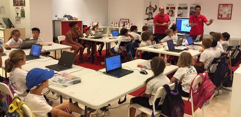 Talleres Stemxion de robótica, programación y creación de videojuegos para niños