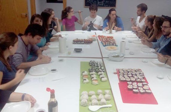 alterna en la movida taller sushi