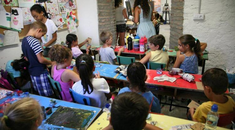 Talleres infantiles en el Museum Jorge Rando