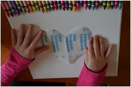 Cuadro de ceras derretidas, un invento original para hacer con niños Saturna.Manualidades 04