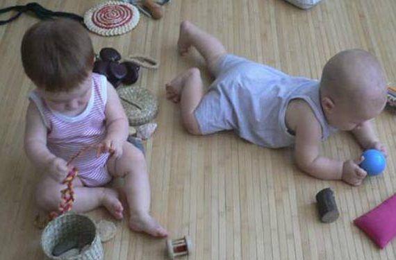 Aula Verde taller de juegos para Bebés