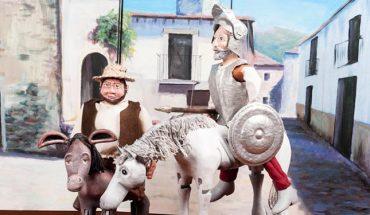 Don Quijote y Sancho Panza Ángeles de Trapo Inolvidable Quijote