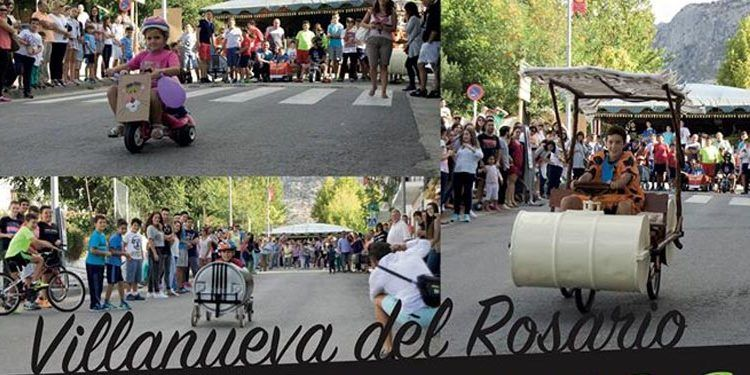 Carrera de autos locos para niños en Villanueva del Trabuco