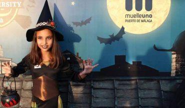 Halloween para niños en Muelle Uno Málaga organizado por Artsenal 03